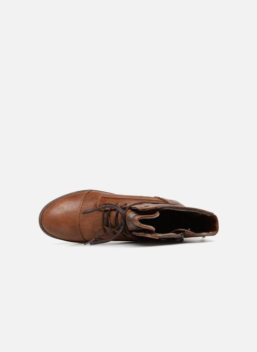 Boots en enkellaarsjes Mustang shoes Candie Bruin links