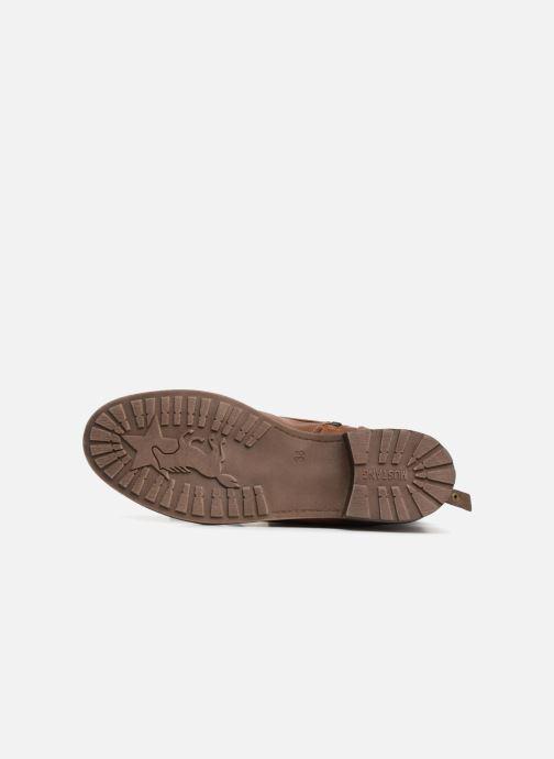 Boots en enkellaarsjes Mustang shoes Candie Bruin boven