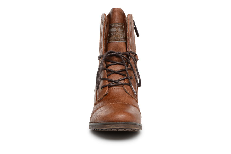 Boots en enkellaarsjes Mustang shoes Candie Bruin model
