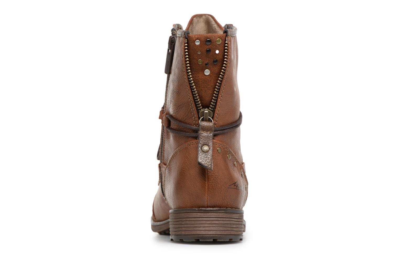 Boots en enkellaarsjes Mustang shoes Candie Bruin rechts