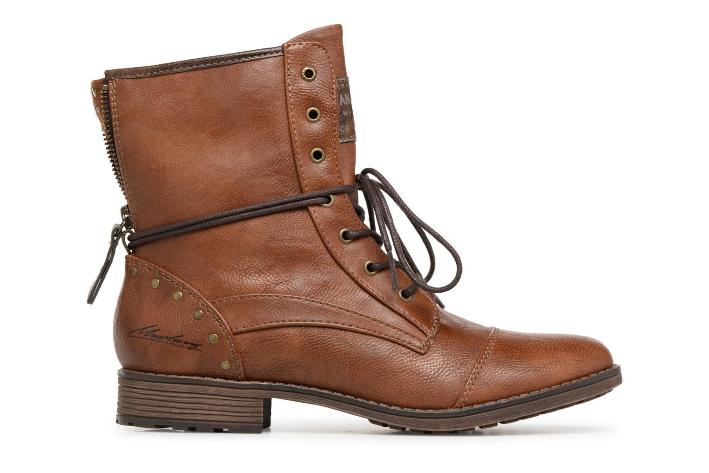 Boots en enkellaarsjes Mustang shoes Candie Bruin achterkant