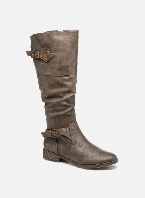 Bottes Mustang shoes Morgana Gris vue détail/paire