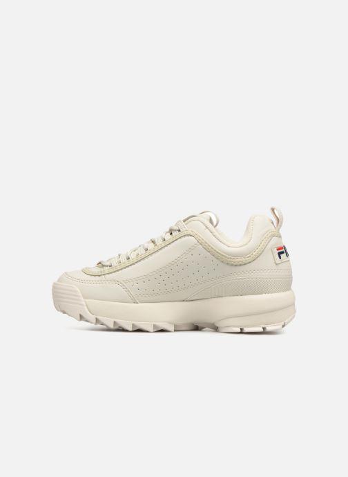 Sneakers FILA Disruptor Beige Beige se forfra