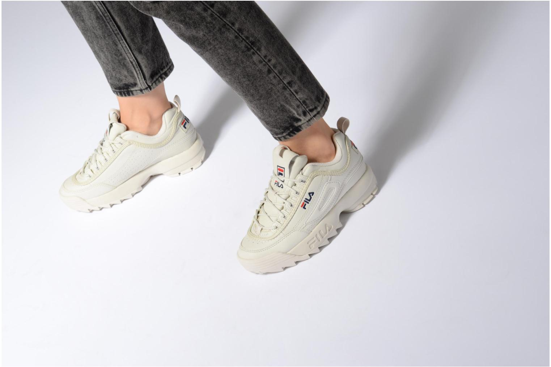 Sneakers FILA Disruptor Beige Beige se forneden