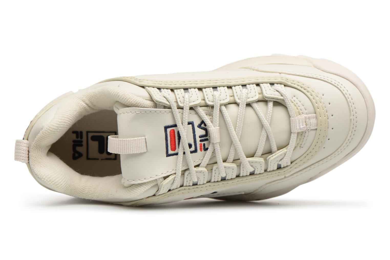 Sneaker FILA Disruptor Beige beige ansicht von links