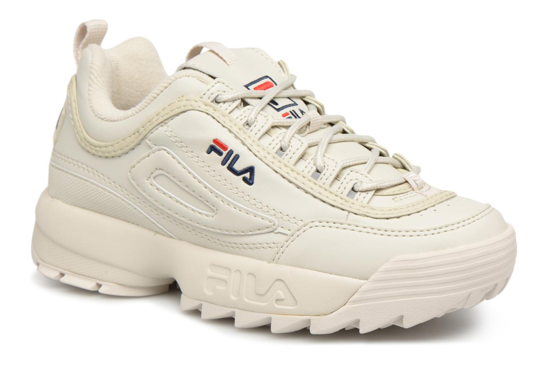 Sneakers FILA Disruptor Beige Beige detaljeret billede af skoene