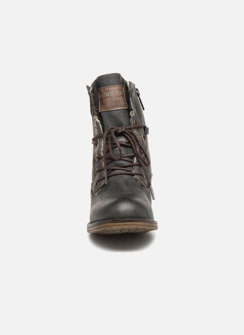 Bottines et boots Mustang shoes Bolen Gris vue portées chaussures