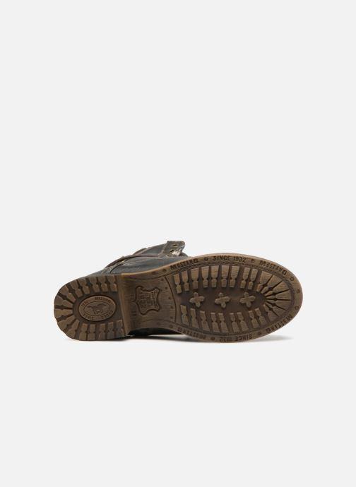 Stiefeletten & Boots Mustang shoes Bolen grau ansicht von oben