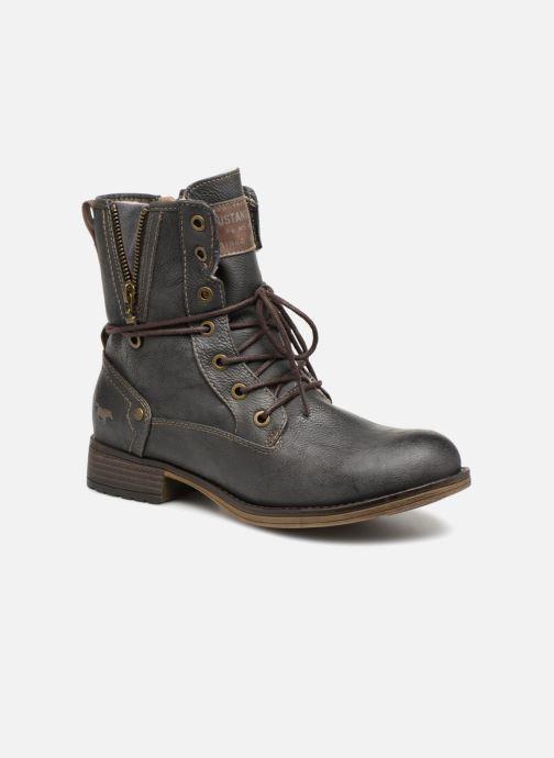 Bottines et boots Mustang shoes Bolen Gris vue détail/paire