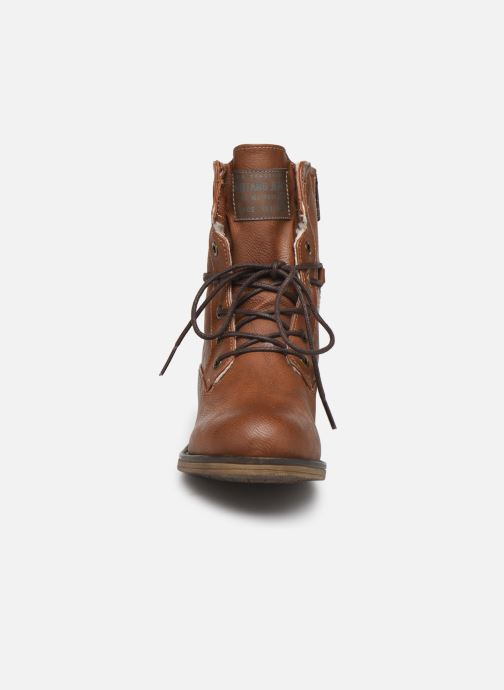 Boots en enkellaarsjes Mustang shoes Bolen Bruin model