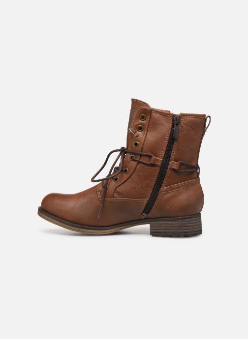Bottines et boots Mustang shoes Bolen Marron vue face