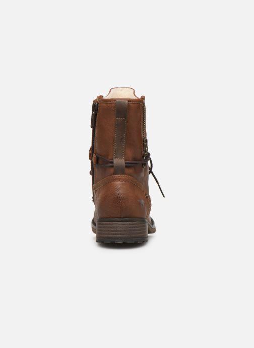 Bottines et boots Mustang shoes Bolen Marron vue droite