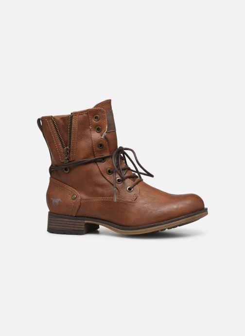 Boots en enkellaarsjes Mustang shoes Bolen Bruin achterkant