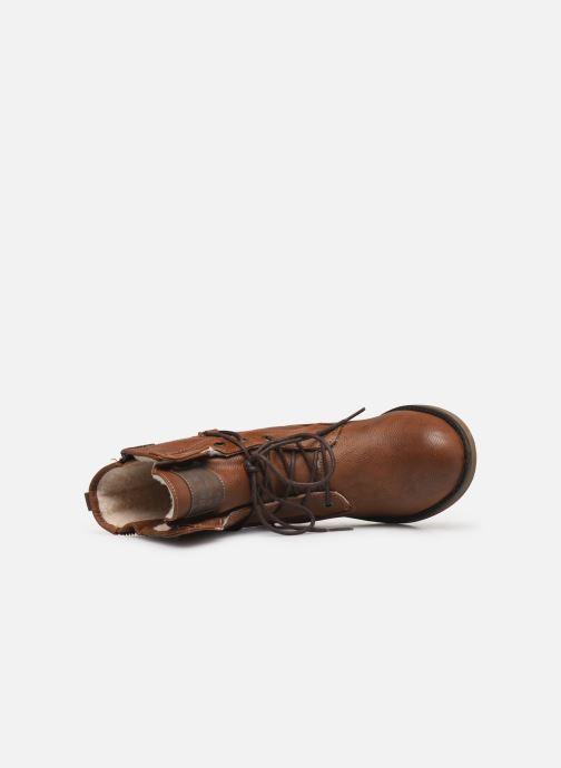 Bottines et boots Mustang shoes Bolen Marron vue gauche