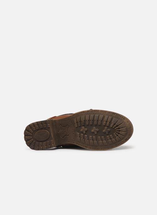 Bottines et boots Mustang shoes Bolen Marron vue haut