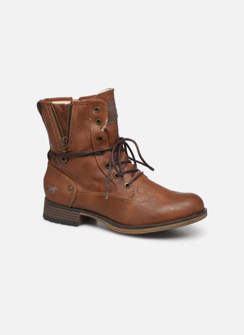Bottines et boots Mustang shoes Bolen Marron vue détail/paire