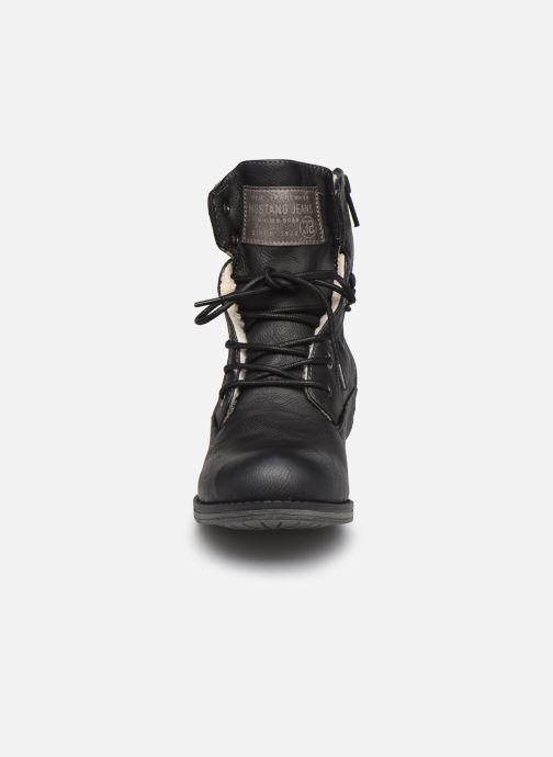 Bottines et boots Mustang shoes Bolen Noir vue portées chaussures