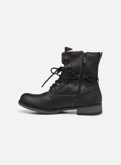 Bottines et boots Mustang shoes Bolen Noir vue face