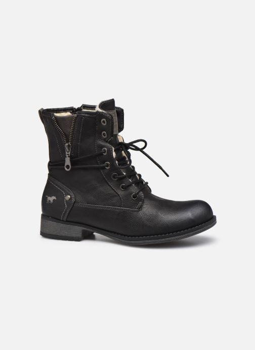 Bottines et boots Mustang shoes Bolen Noir vue derrière