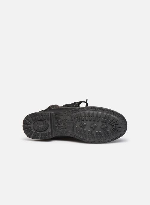 Bottines et boots Mustang shoes Bolen Noir vue haut