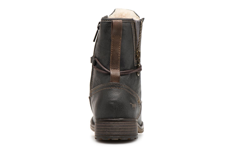 Bottines et boots Mustang shoes Bolen Gris vue droite
