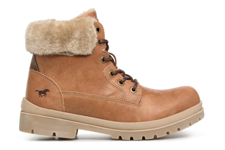 Bottines et boots Mustang shoes Heidi Marron vue derrière
