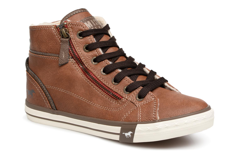 Mustang shoes Suzie (Marron) - Baskets en Más cómodo Mode pas cher et belle