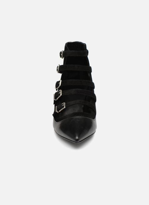 Boots en enkellaarsjes What For Wil Zwart model