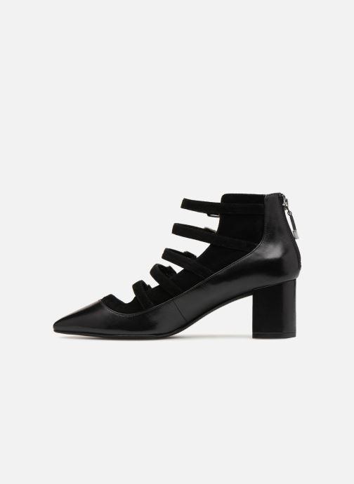 Boots en enkellaarsjes What For Wil Zwart voorkant
