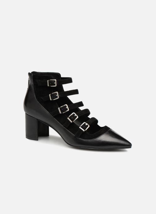 Boots en enkellaarsjes What For Wil Zwart detail