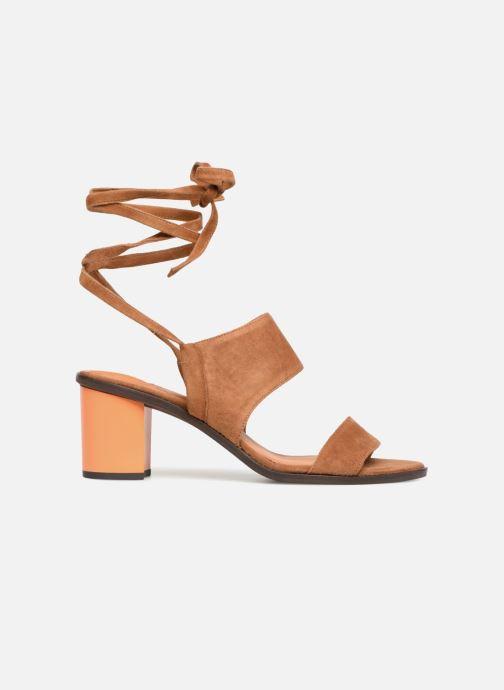 Sandales et nu-pieds What For Eachan Marron vue derrière