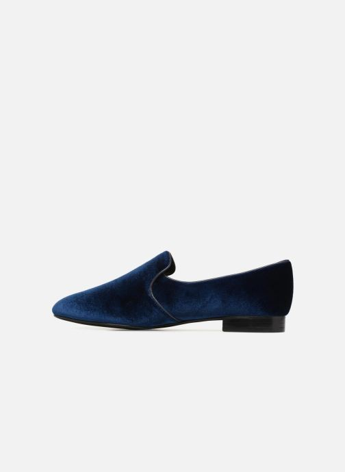Loafers What For Mocassins Blue front view