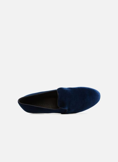 Loafers What For Mocassins Blue view from the left