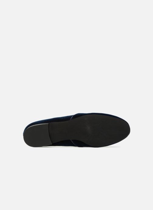 Loafers What For Mocassins Blue view from above