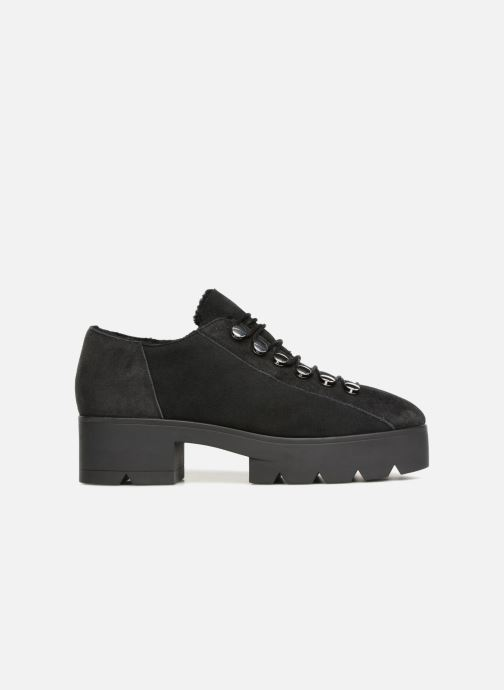 Zapatos con cordones What For Mike Negro vistra trasera