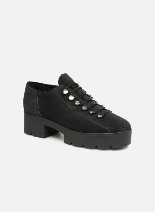 Chaussures à lacets What For Mike Noir vue détail/paire