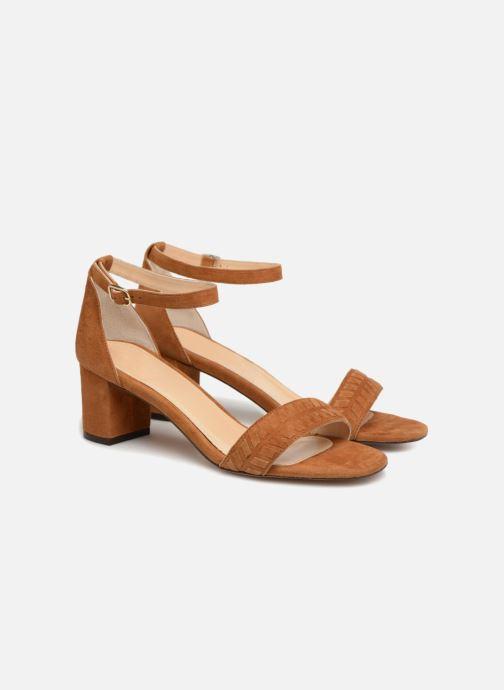 Sandales et nu-pieds Tila March TMS264-PA-02-59 Marron vue 3/4