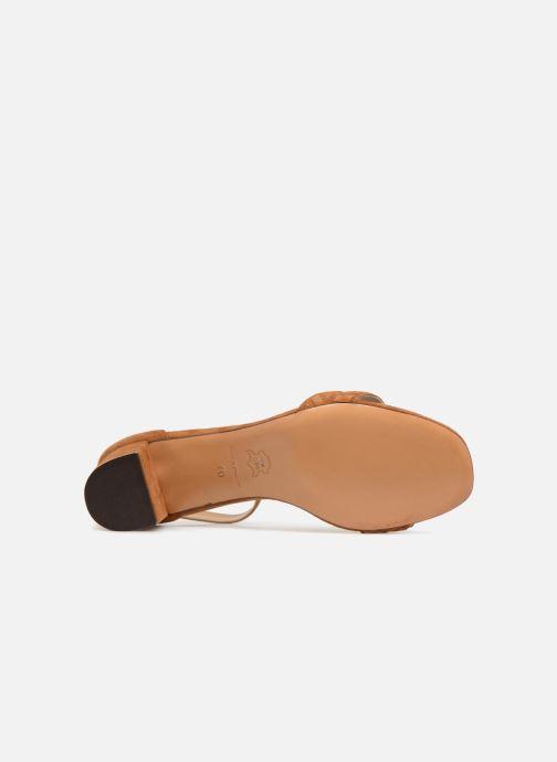 Sandales et nu-pieds Tila March TMS264-PA-02-59 Marron vue haut