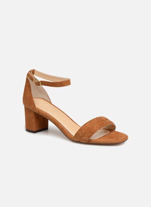 Sandales et nu-pieds Tila March TMS264-PA-02-59 Marron vue détail/paire