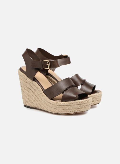 Sandales et nu-pieds Tila March TMS68-AM-01-19 Marron vue 3/4