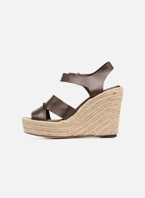 Sandales et nu-pieds Tila March TMS68-AM-01-19 Marron vue face