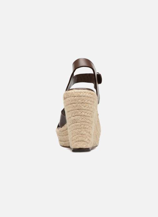 Sandales et nu-pieds Tila March TMS68-AM-01-19 Marron vue droite
