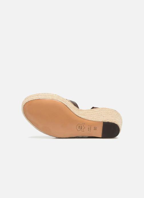 Sandales et nu-pieds Tila March TMS68-AM-01-19 Marron vue haut