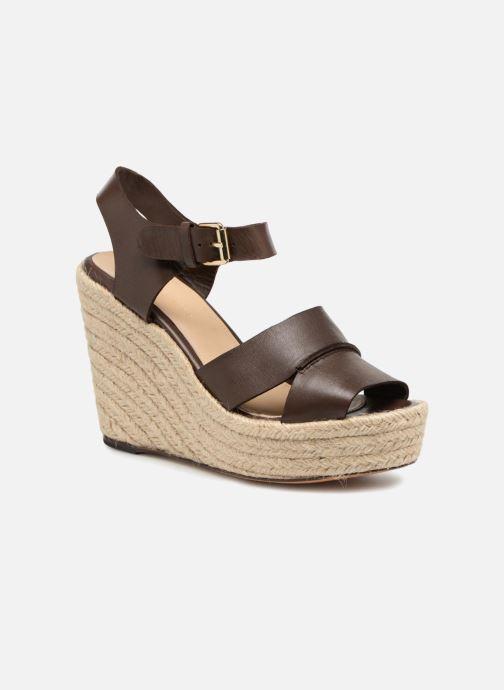 Sandales et nu-pieds Tila March TMS68-AM-01-19 Marron vue détail/paire