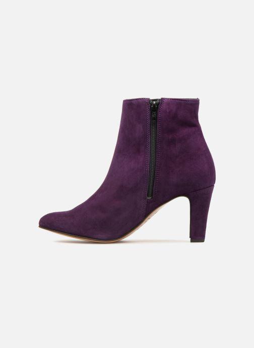 Bottines et boots Tila March Muzelle Flounce Violet vue face