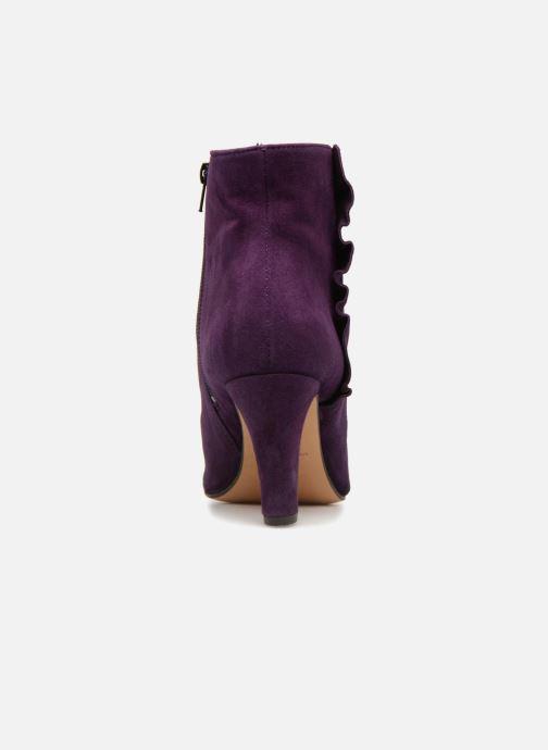 Bottines et boots Tila March Muzelle Flounce Violet vue droite