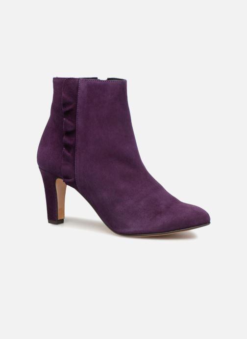 Bottines et boots Tila March Muzelle Flounce Violet vue détail/paire