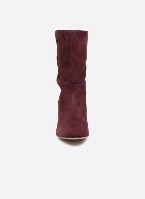 Bottes Tila March TMS221-TA-02 Violet vue portées chaussures