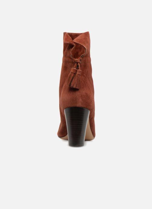 Boots en enkellaarsjes Tila March TMS307-LE-02 Bruin rechts