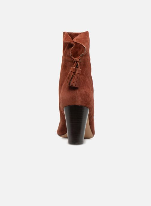 Bottines et boots Tila March TMS307-LE-02 Marron vue droite